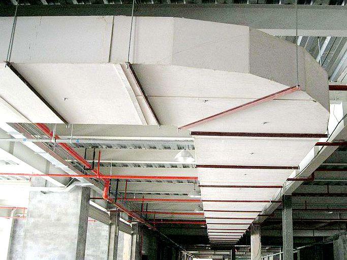 无机玻璃钢风管工程